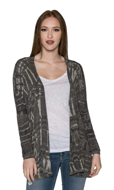 River + Sky Night Out Tie Dye Cardigan-River + Sky-Vintage Fringe