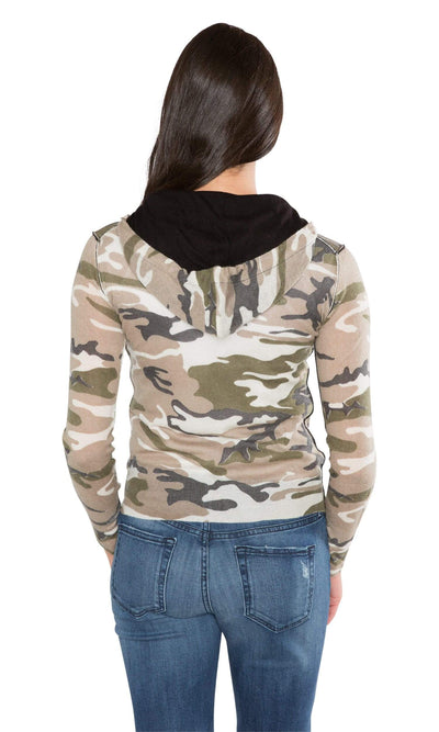 Knitwit Classic Zip Hoodie Light Cashmere - Camo-Knitwit-Vintage Fringe