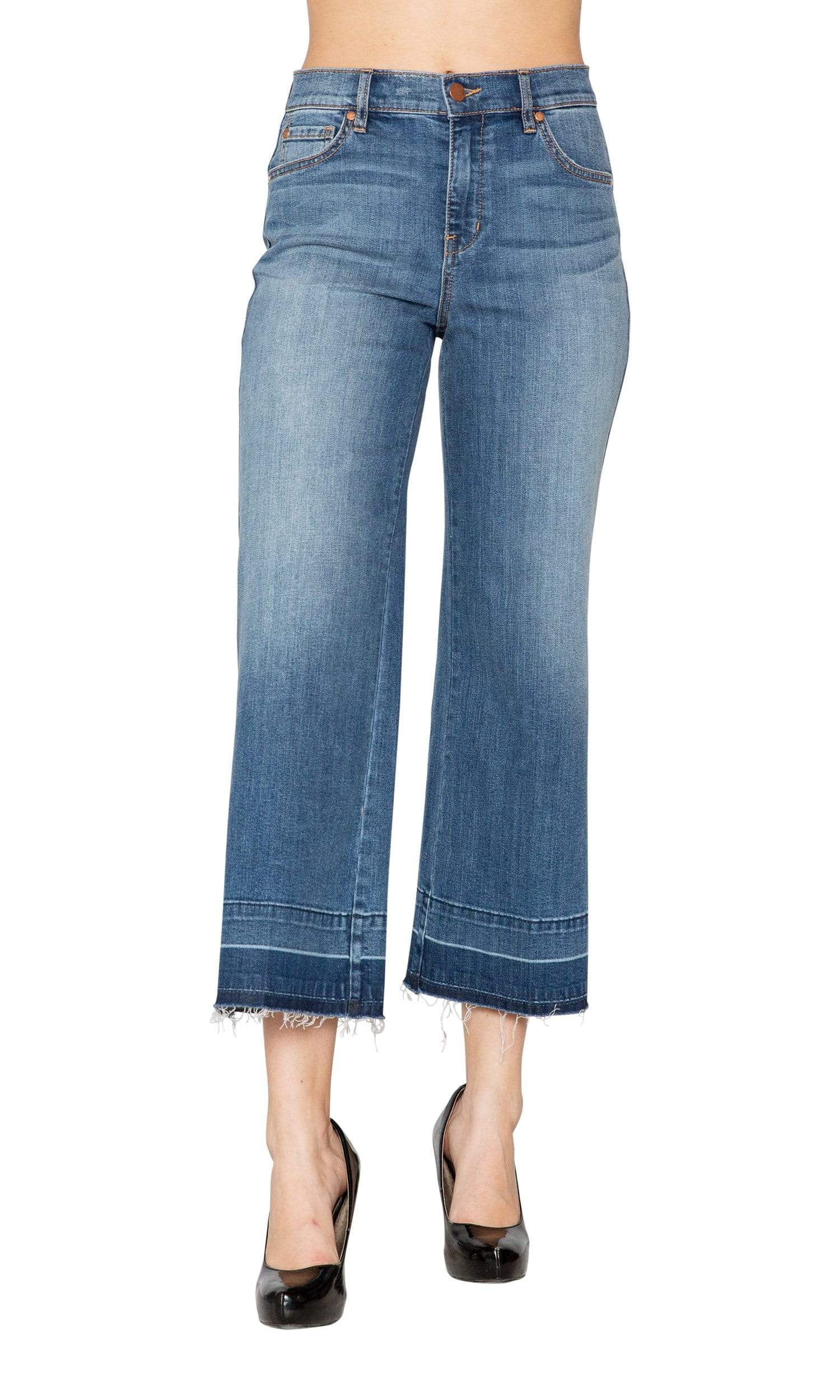 Level 99 Anabelle 5 Pocket Wide Leg Denim