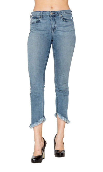 Level 99 Liza Mid Rise Denim - Clarity-Level 99-Vintage Fringe