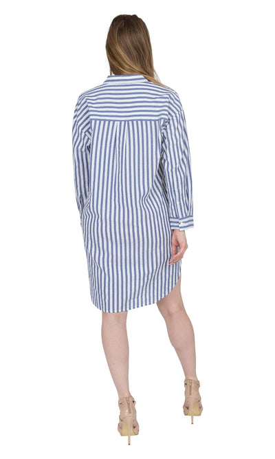 Velvet by Graham & Spencer Ivy Woven Cotton Stripe Dress