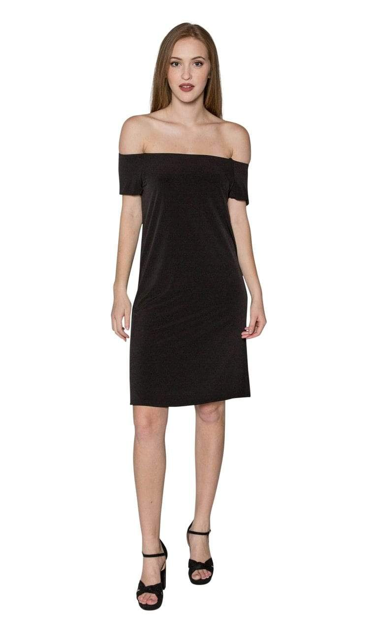 Velvet by Graham & Spencer Sorana Jersey Off the Shoulder Dress