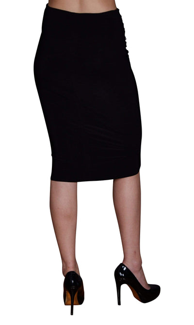 Viereck Dime Ruched Pencil Skirt