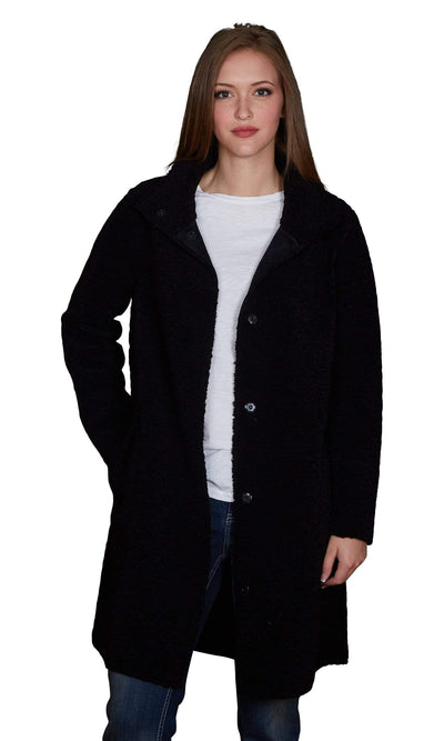 Velvet by Graham & Spencer Mirabella Reversible Lux Sherpa Coat