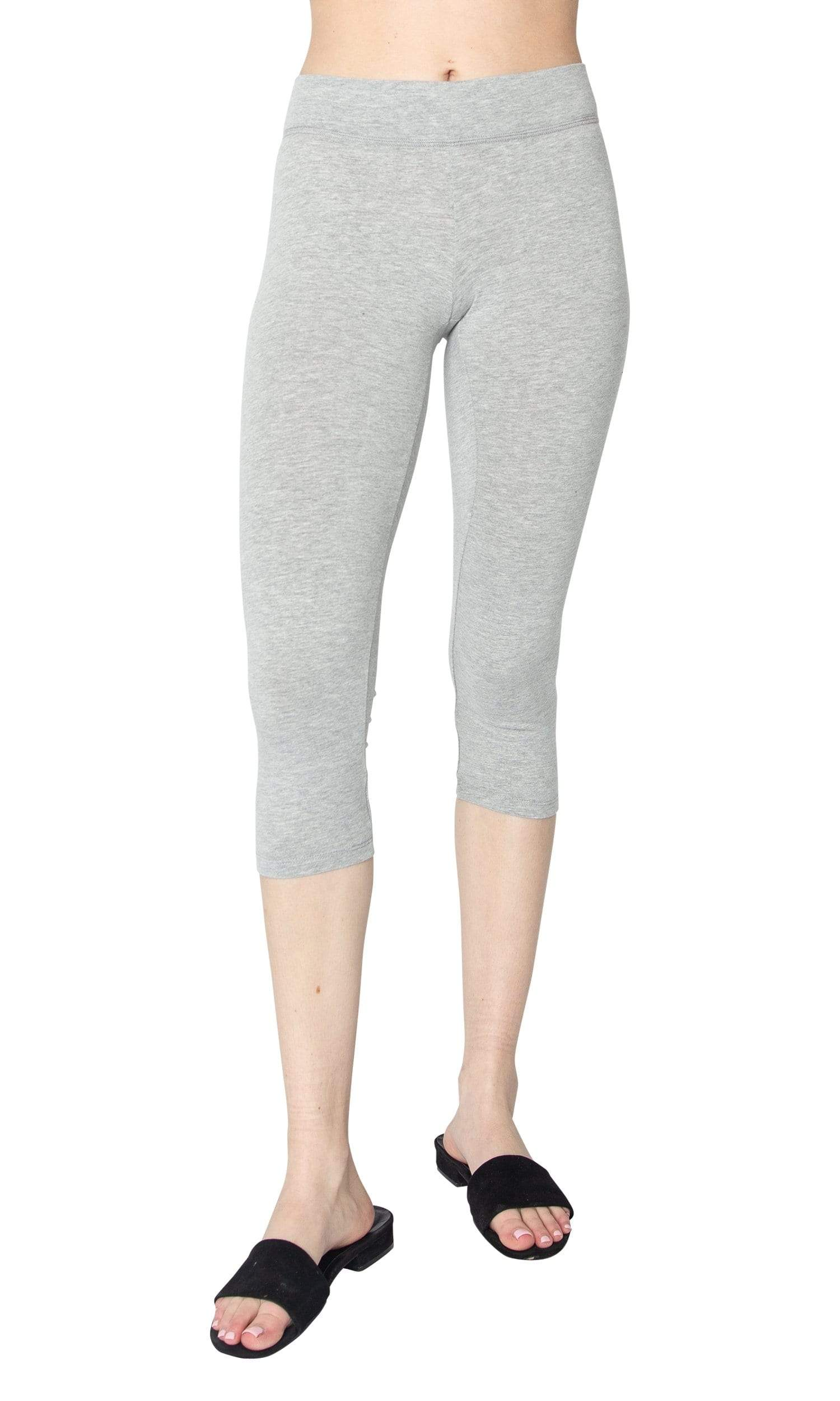 LAmade Heavy Cropped Cotton Blend Legging