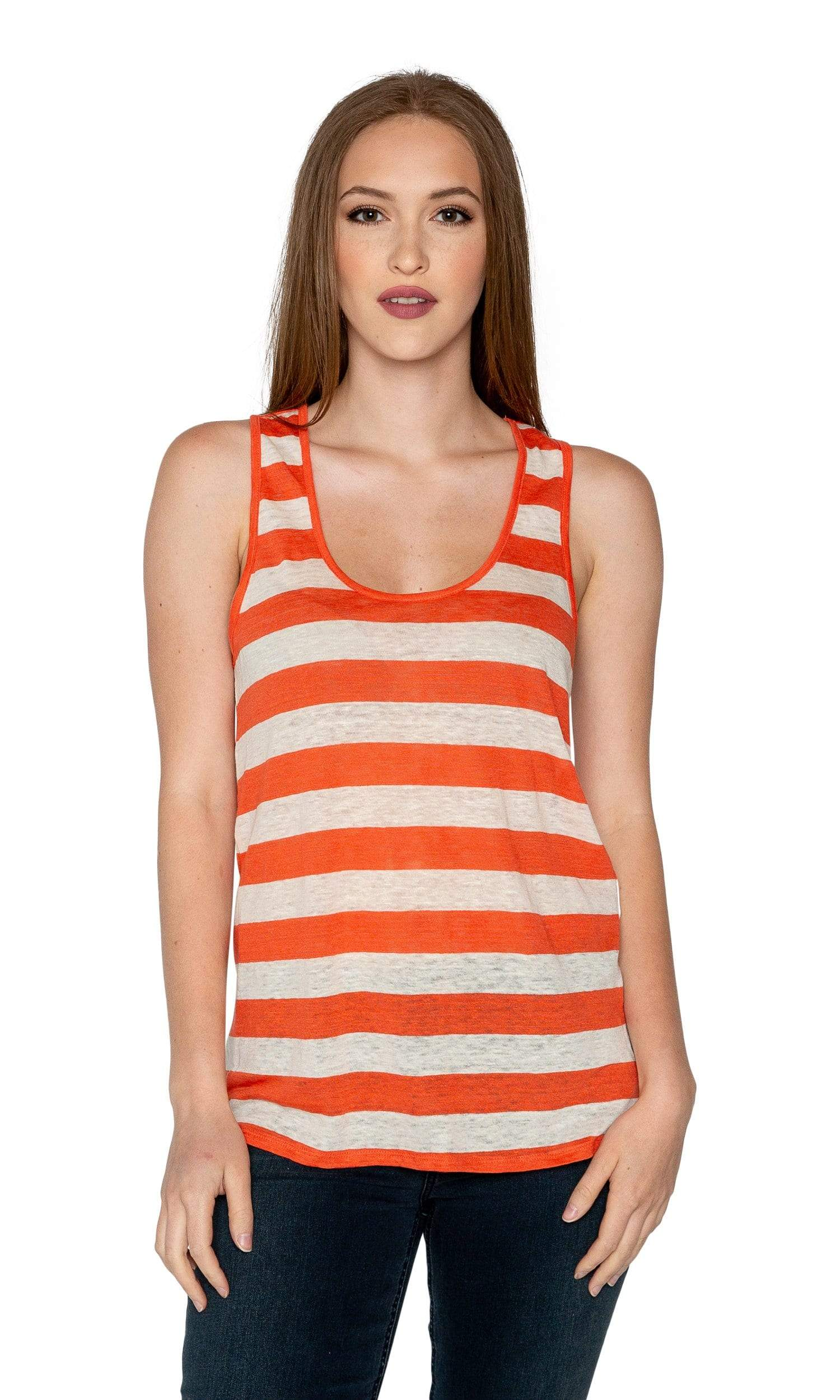 Velvet by Graham & Spencer Shoshana Striped Tank Top