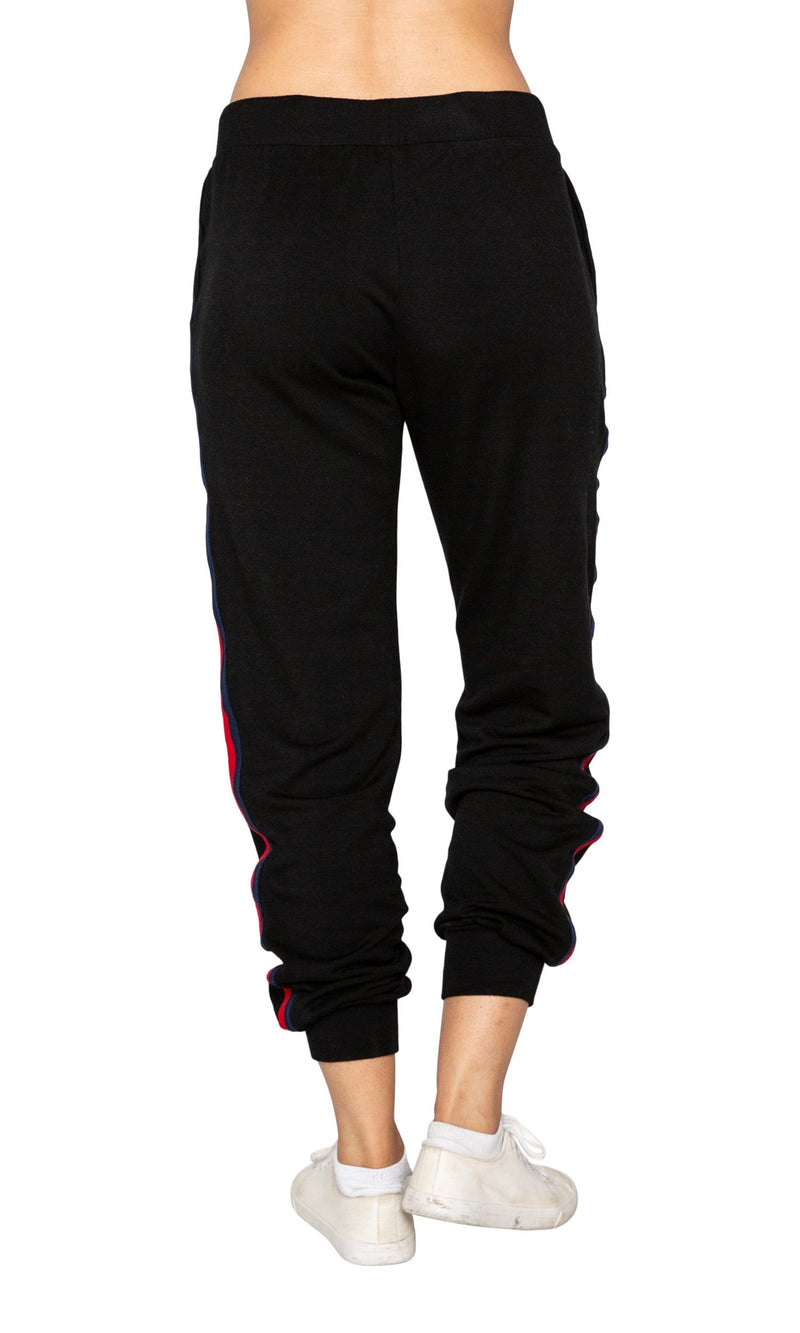 Velvet by Graham & Spencer Dior Stripped Jogger Pants
