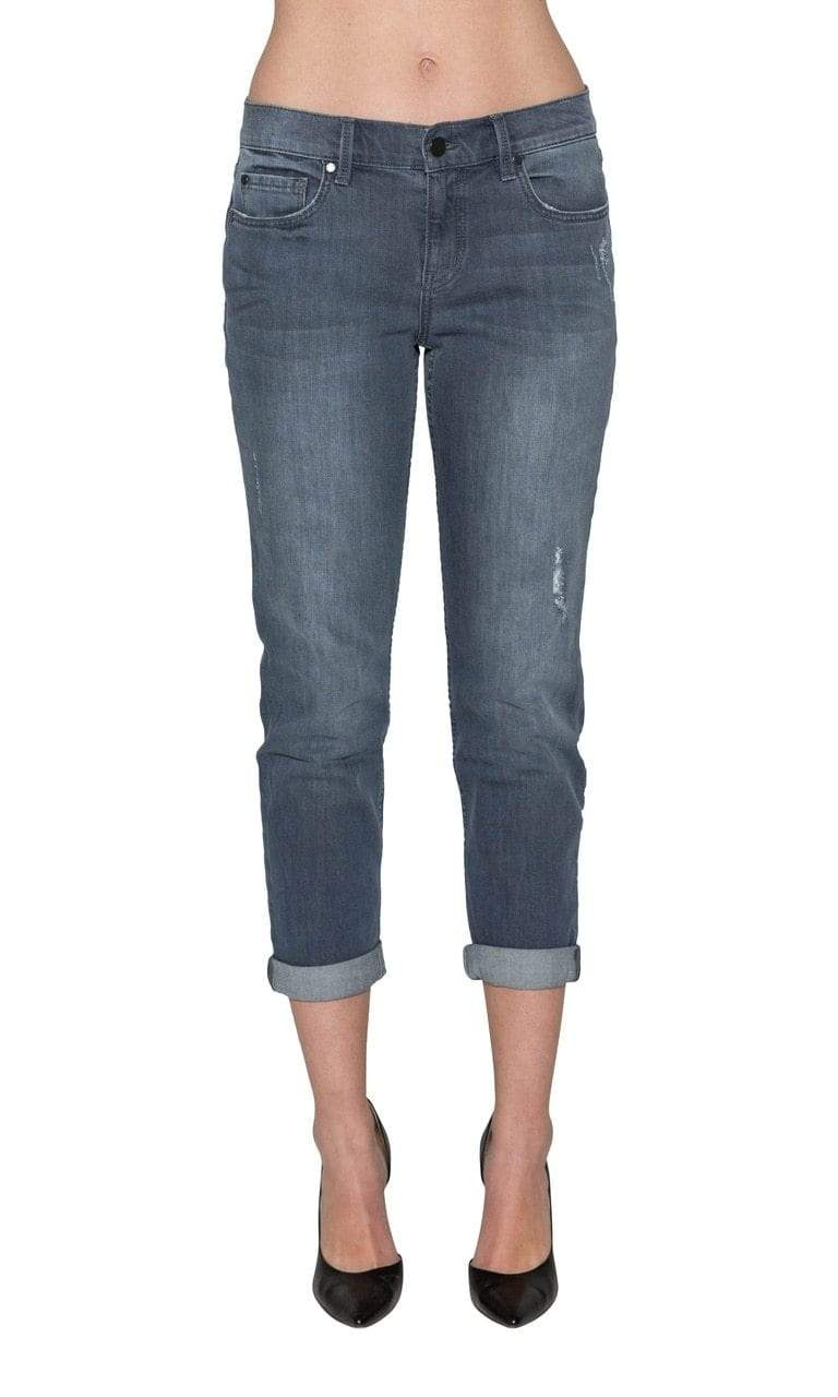 Level 99 Sienna Tomboy Denim - Blue Jay