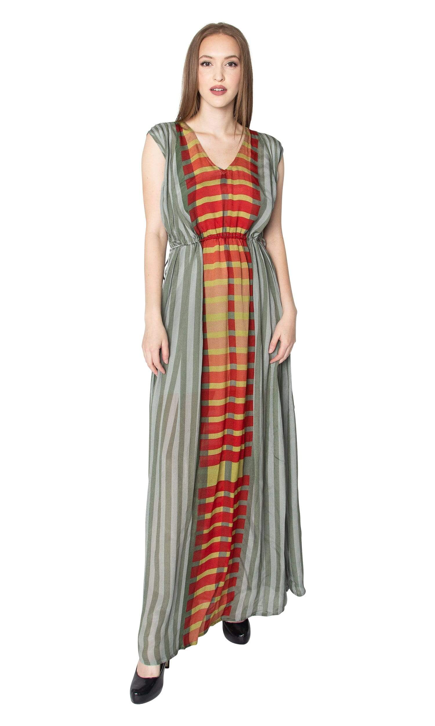 216f5a23e45232 Conditions Apply One of the Best in the World Side Tie Maxi Dress - Vintage  Fringe