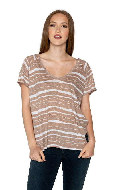 Velvet by Graham & Spencer Janice Dolman Top-Velvet-Vintage Fringe
