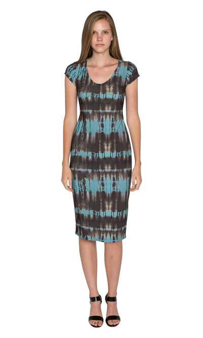 Viereck Tahini Scoop Neck Dress - Pontiac