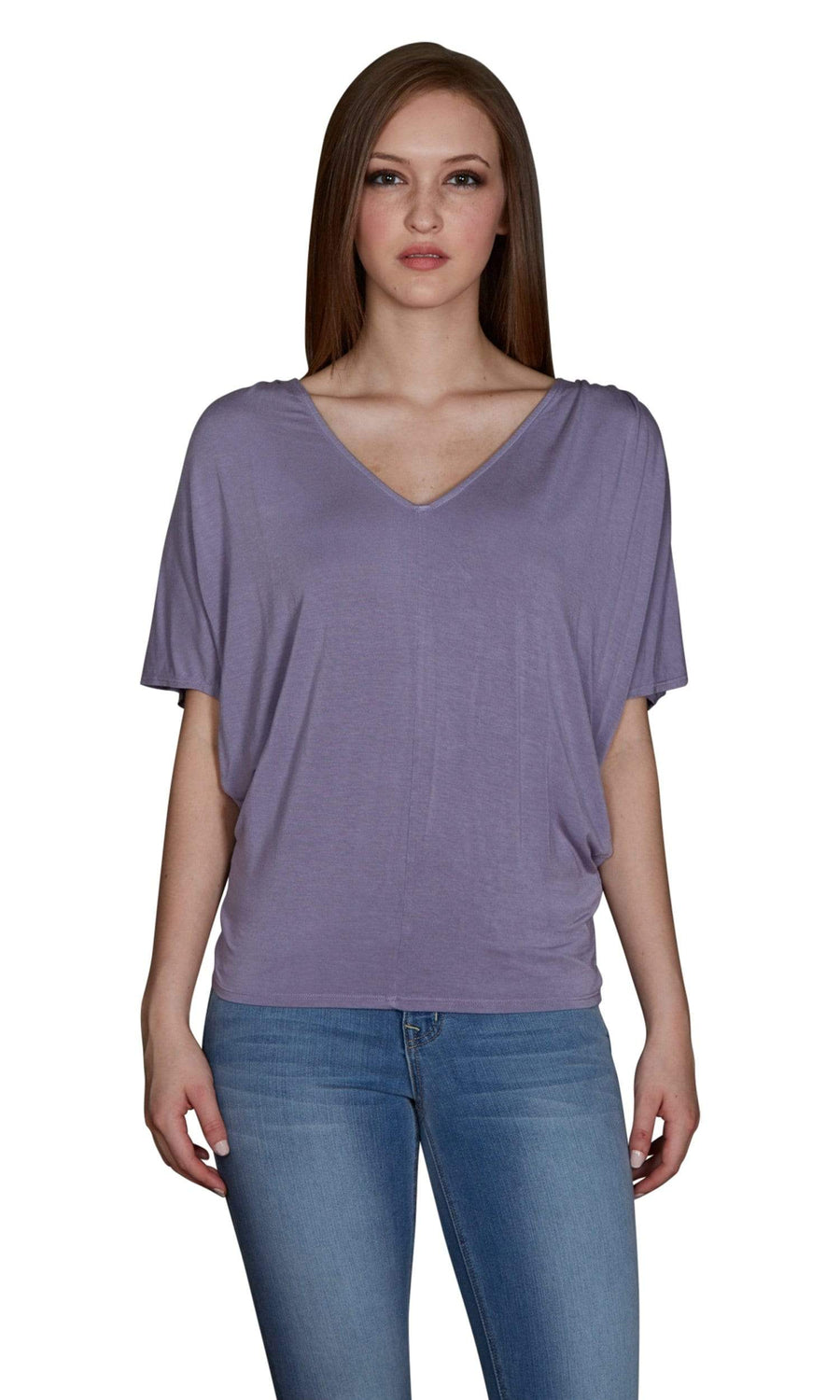 Velvet by Graham & Spencer Jay Modal Cold Shoulder Tee