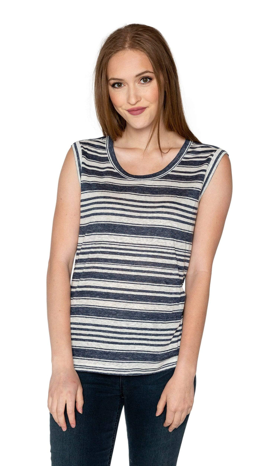 Velvet by Graham & Spencer Lada Striped Tank Top