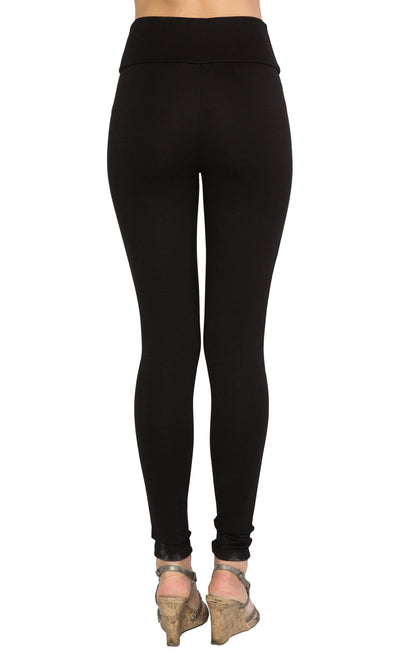 Tantrum Ink Double Knee Cut Out Rayon Legging