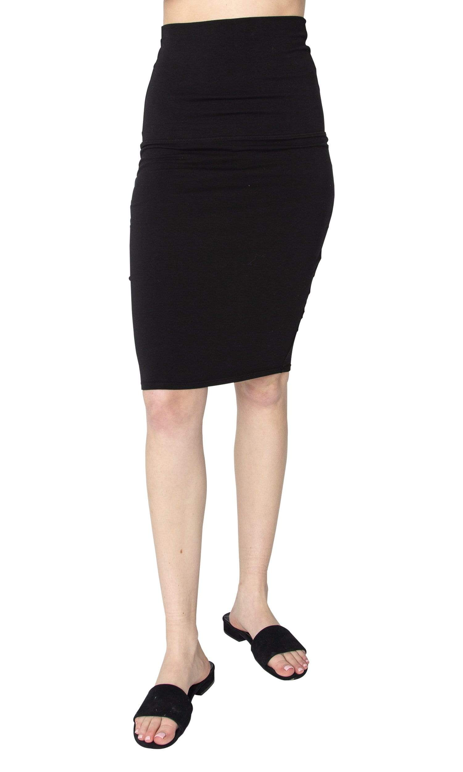 LAmade Trina Cotton Blend Pencil Skirt