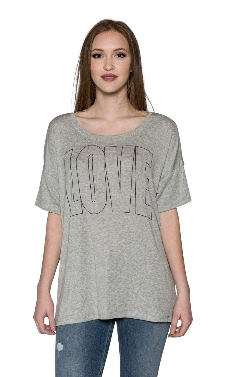 Sundown by River + Sky Love Graphic Sleep Tee