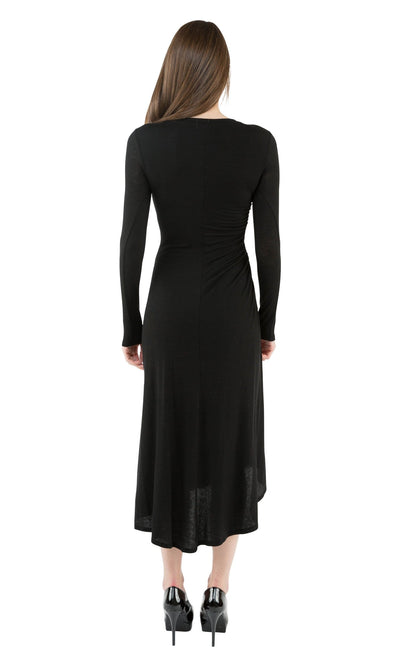 Velvet by Graham & Spencer Gladys Lux Gauze Midi Dress-Velvet-Vintage Fringe