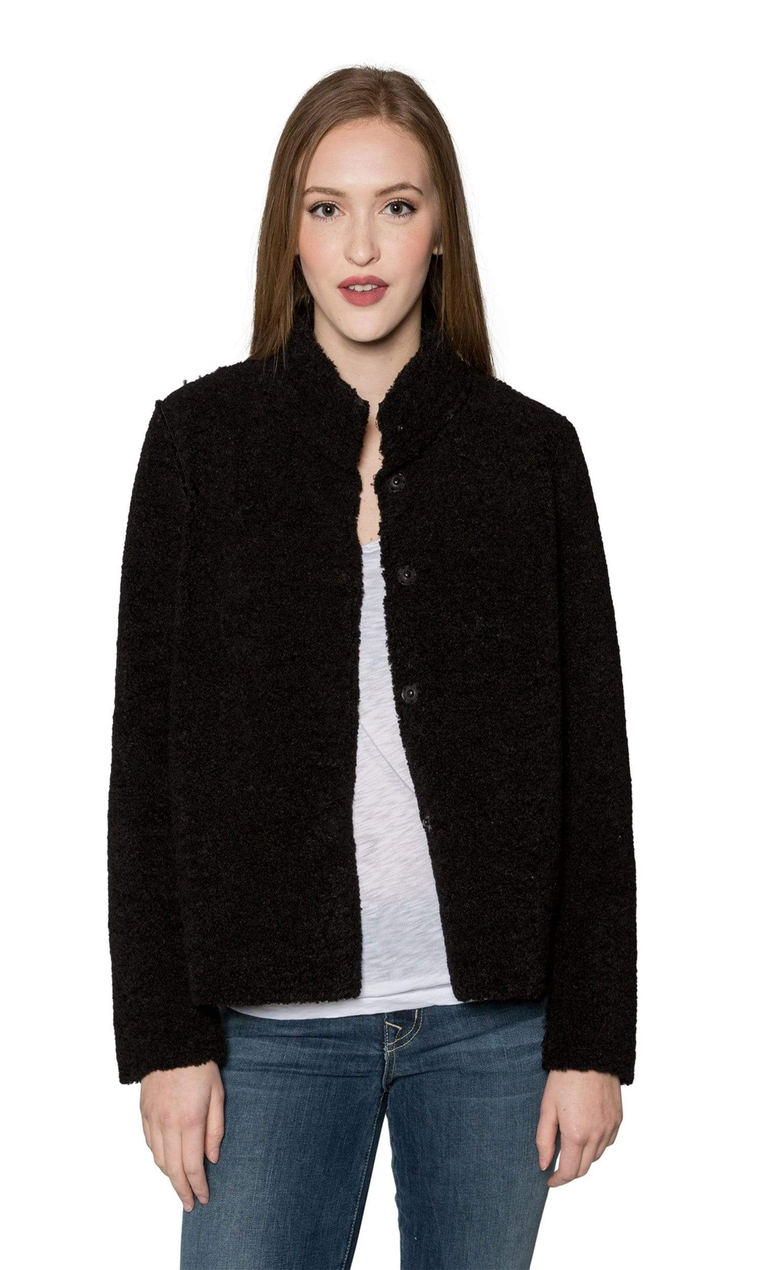 Velvet by Graham & Spencer Chatlie Reversible Faux Sherpa Jacket