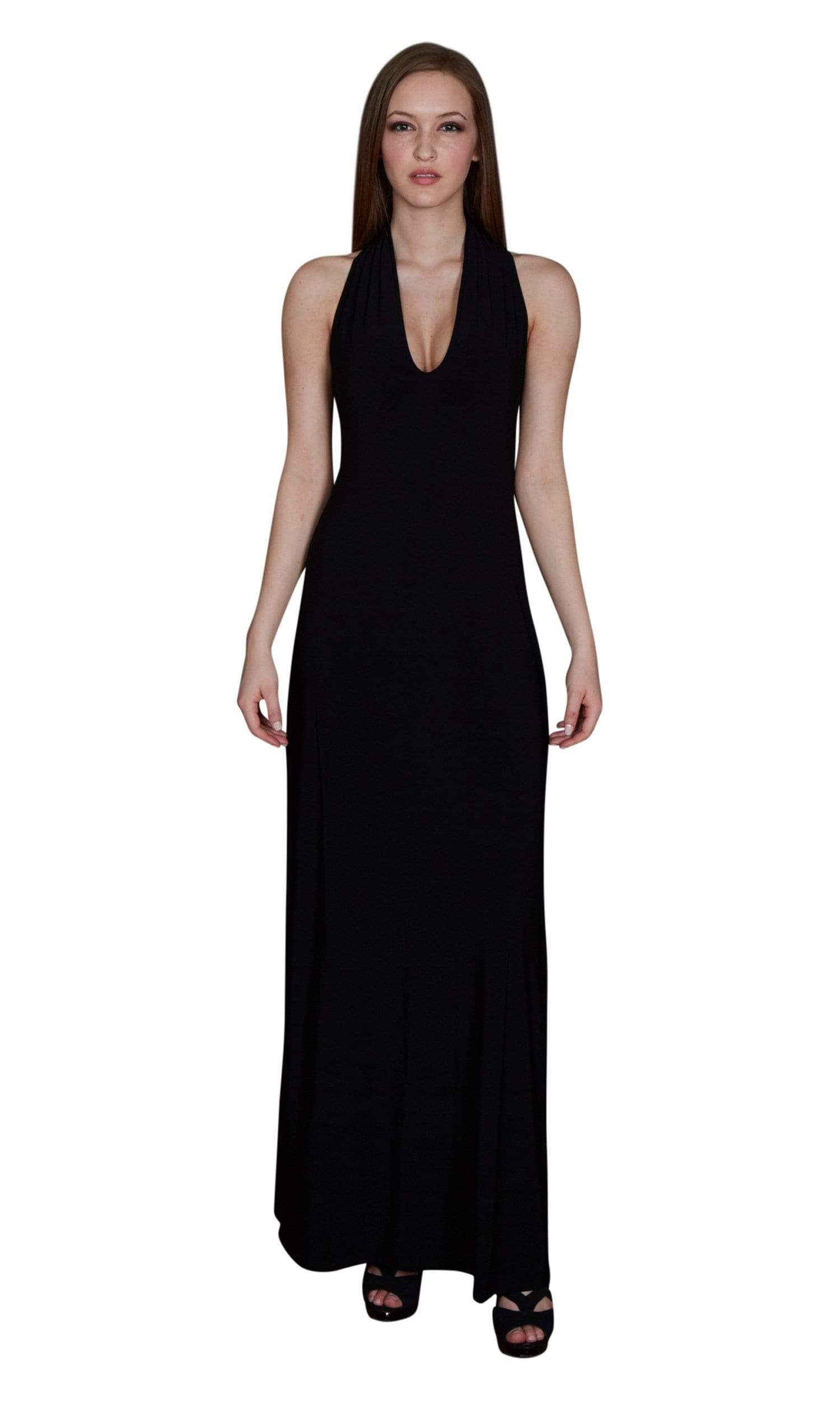 Viereck Vendome Halter Maxi Dress