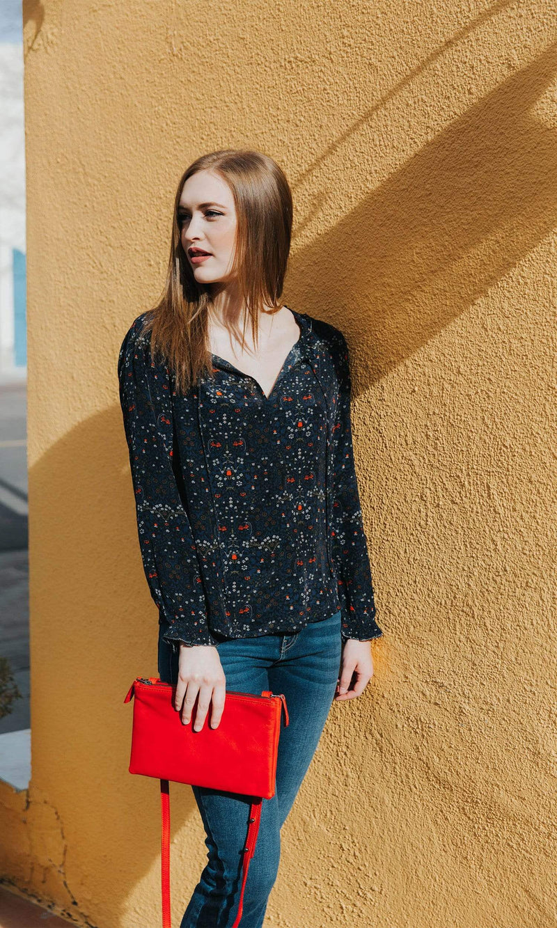 Velvet by Graham & Spencer Mary Floral Blouse