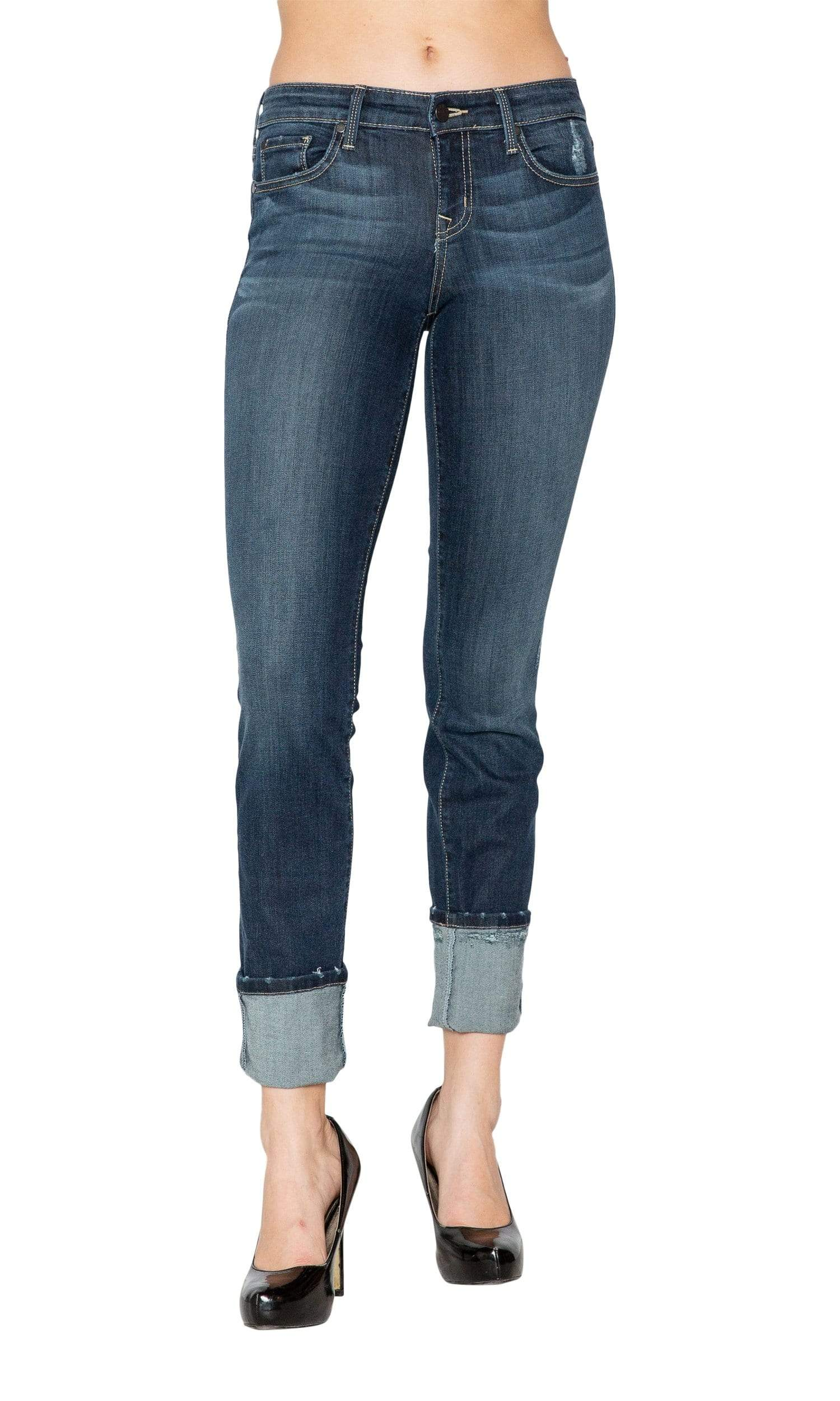 Level 99 Lily Skinny Straight Denim - Ridgewood