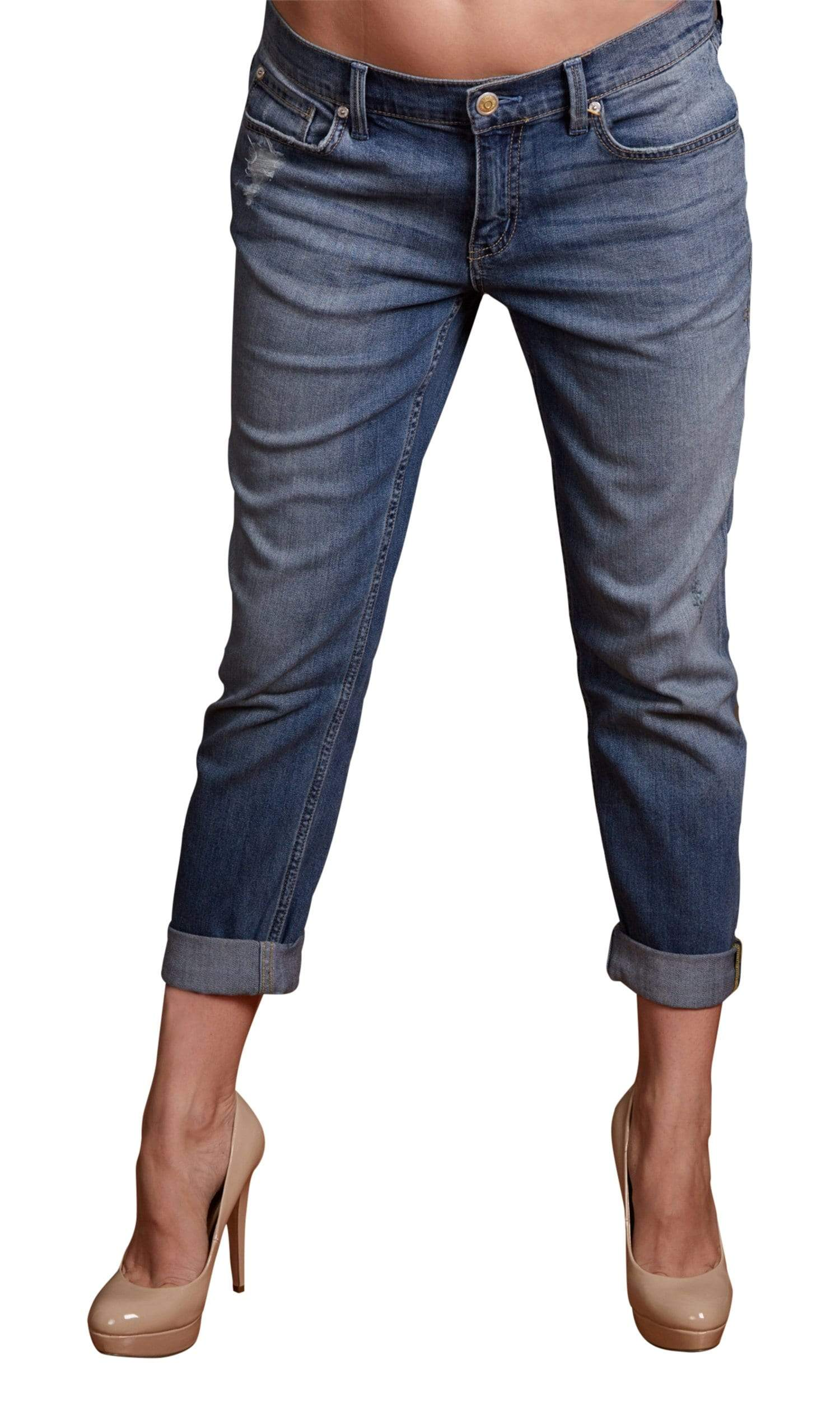 Level 99 Sienna Tomboy Fit Denim-Sicily