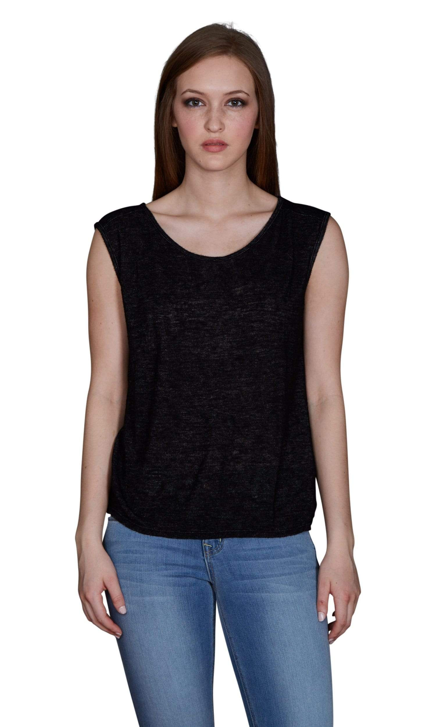 Velvet by Graham & Spencer Delia Textured Knit Round Neck Top