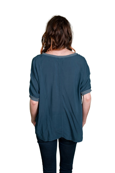Velvet by Graham & Spencer Rice Dolman Sleeve Rayon Top