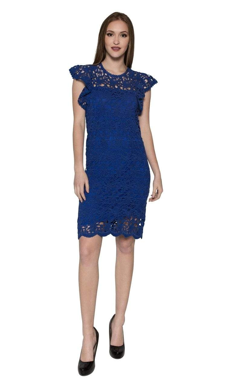 Velvet by Graham & Spencer Ally Lace Cap Sleeve Dress