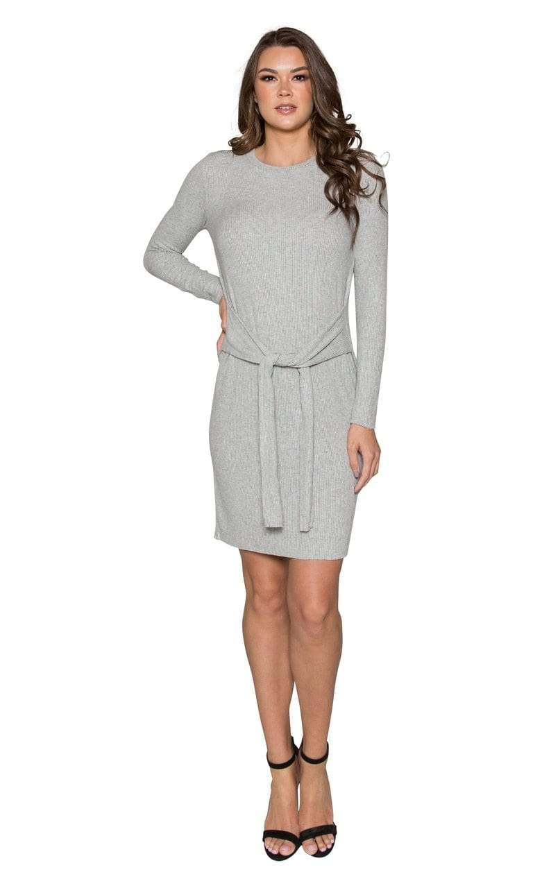 Velvet by Graham & Spencer Lyric Cozy Rib Tie Dress