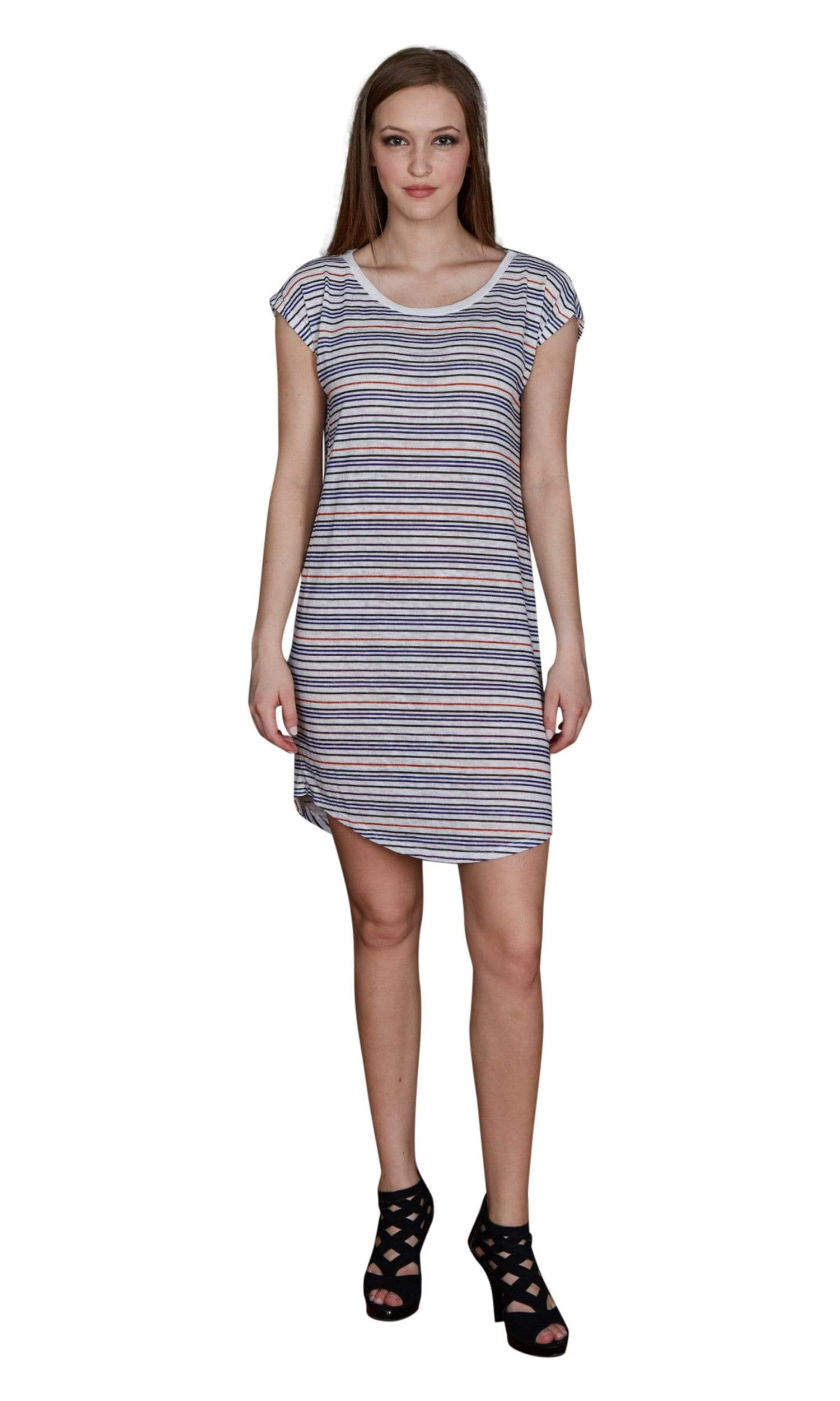 Velvet by Graham & Spencer Hansa Stripe Tee Shirt Dress