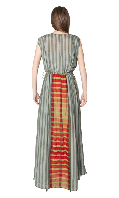 Conditions Apply One of the Best in the World Side Tie Maxi Dress