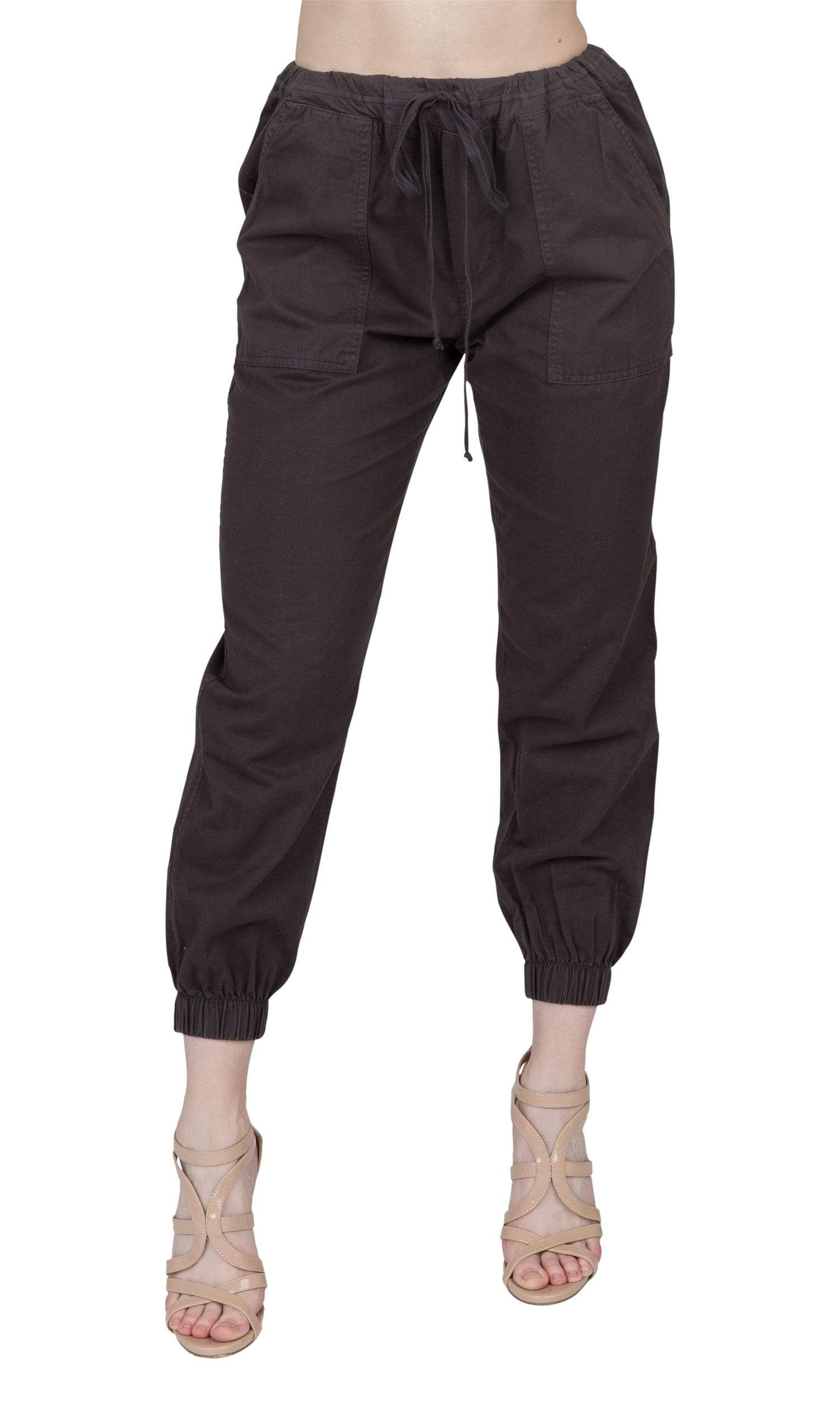 Velvet by Graham & Spencer Ilsa Cotton Twill Cuffed Pant
