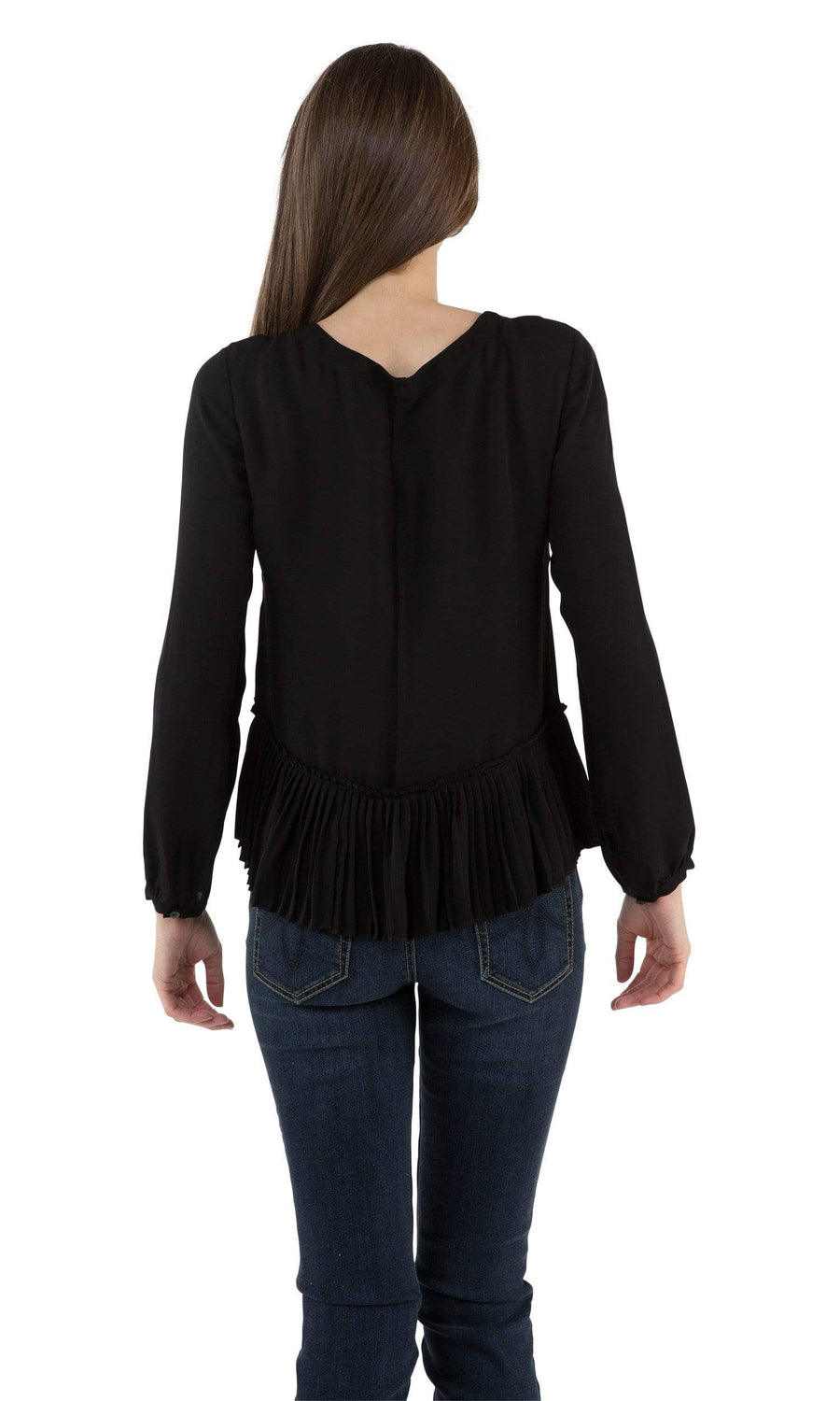 Rebecca Taylor Pleat Top