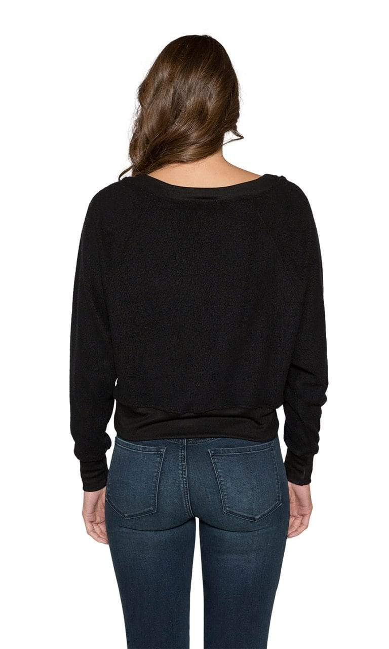 Claudia Inside Out Crop Sweatshirt