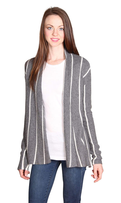 Velvet by Graham & Spencer Destiny Graphic Stripe Cardigan-Velvet-Vintage Fringe