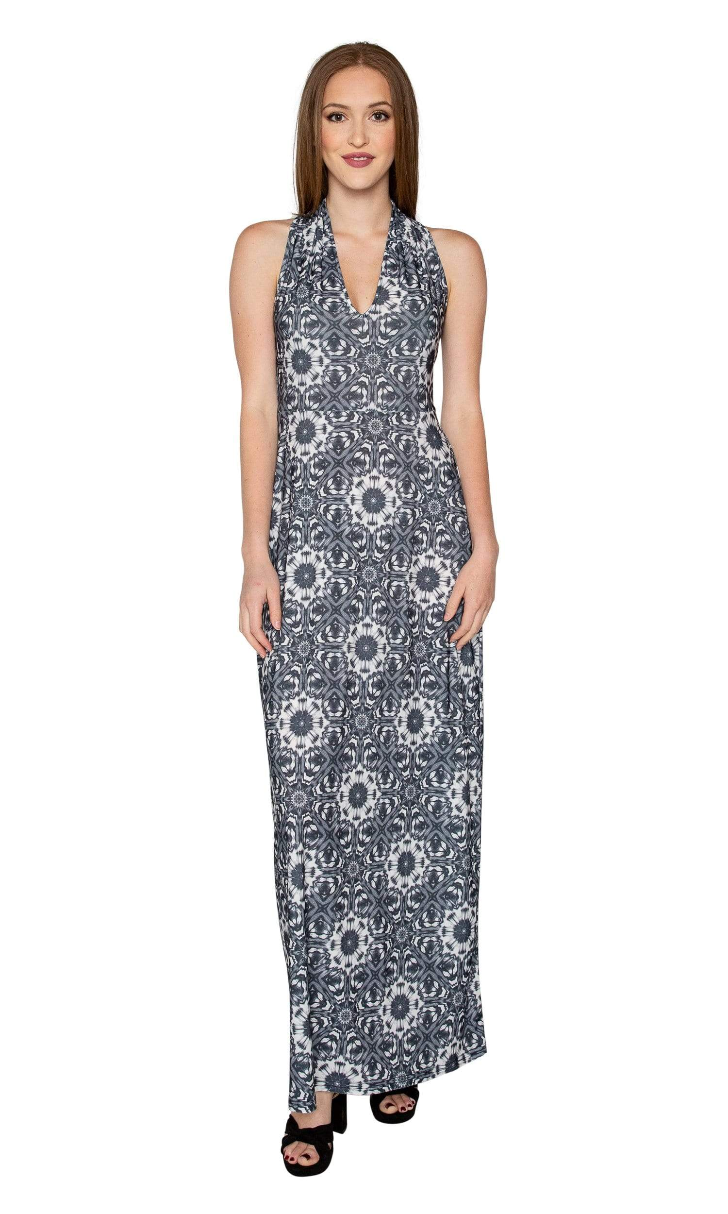 Viereck Vendome Halter Maxi Dress - Saraswati