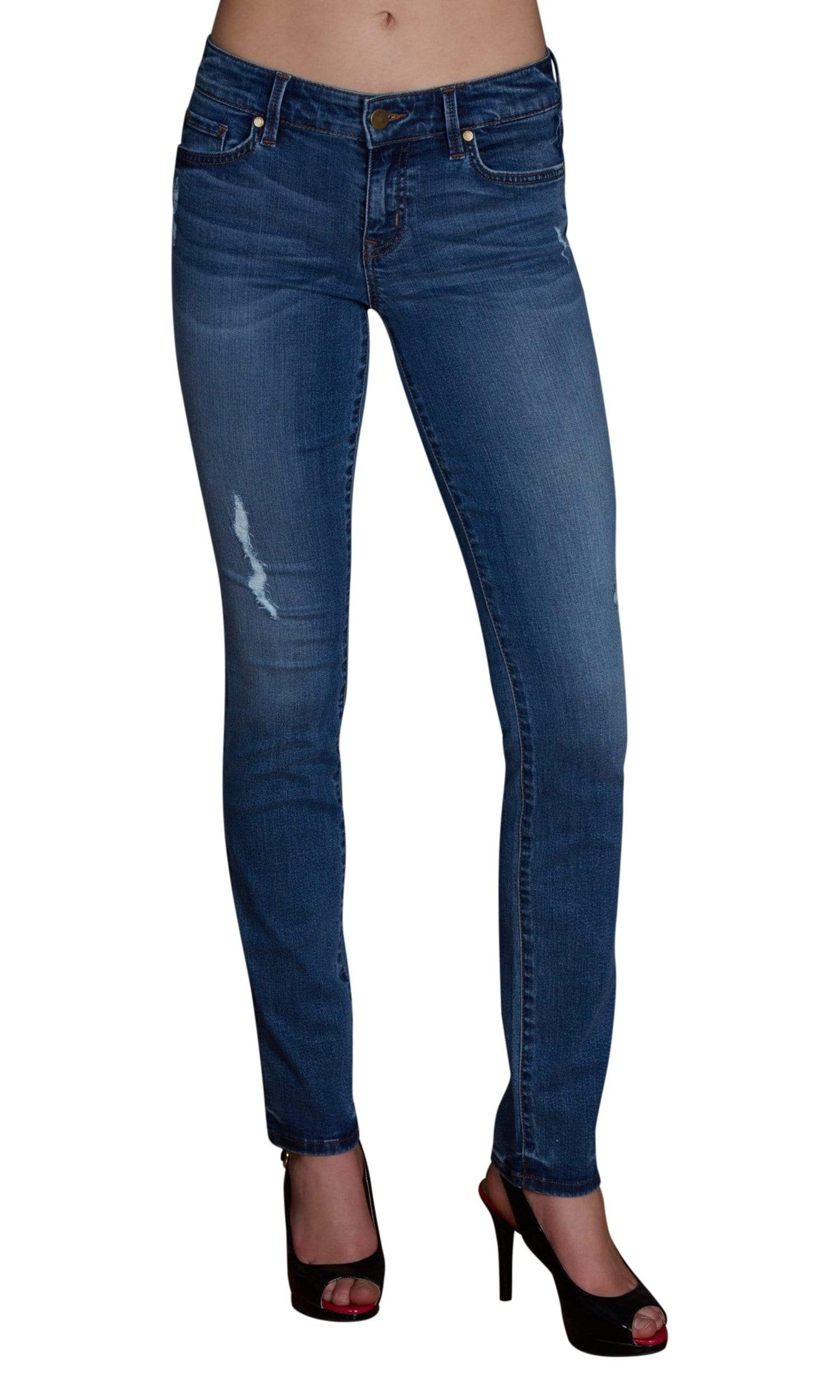 Level 99 Lily Skinny Straight Denim - Tibron