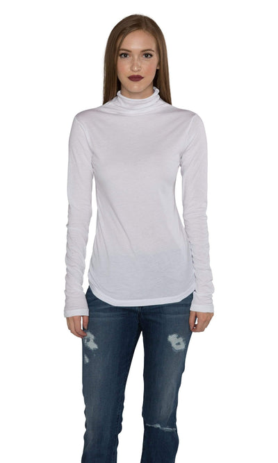 Velvet by Graham & Spencer Talisia05 Gauzy Whisper Turtleneck Top