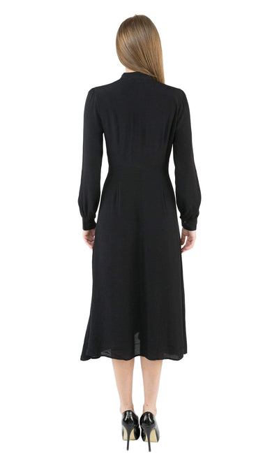 ASTR Edith Tie Neck Dress