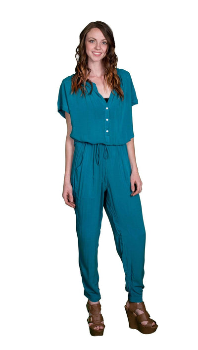 Velvet by Graham & Spencer  Cassia Rayon Challis Jumpsuit