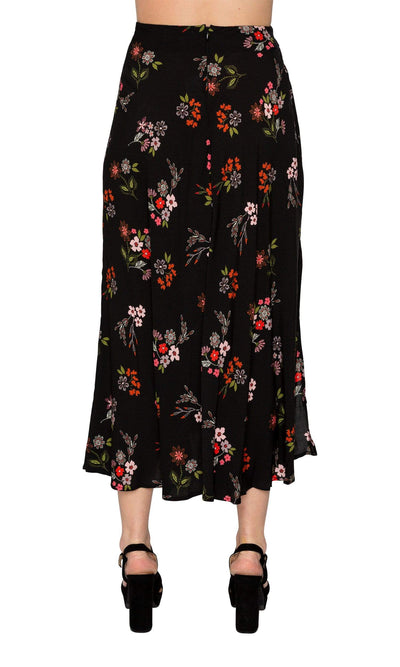 Velvet by Graham & Spencer Swan Spring Floral High/Low Skirt
