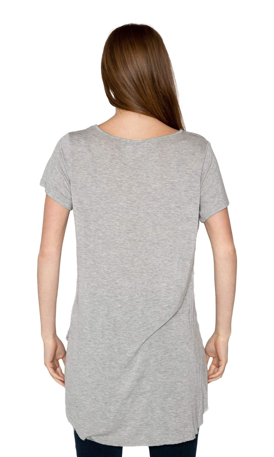 Valln Scoop Tail Tee - Breathe