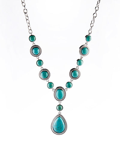 Turquoise Necklace - Fashion You Up