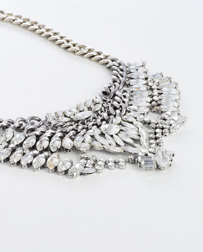 Rhinestone Statement Necklace - Fashion You Up