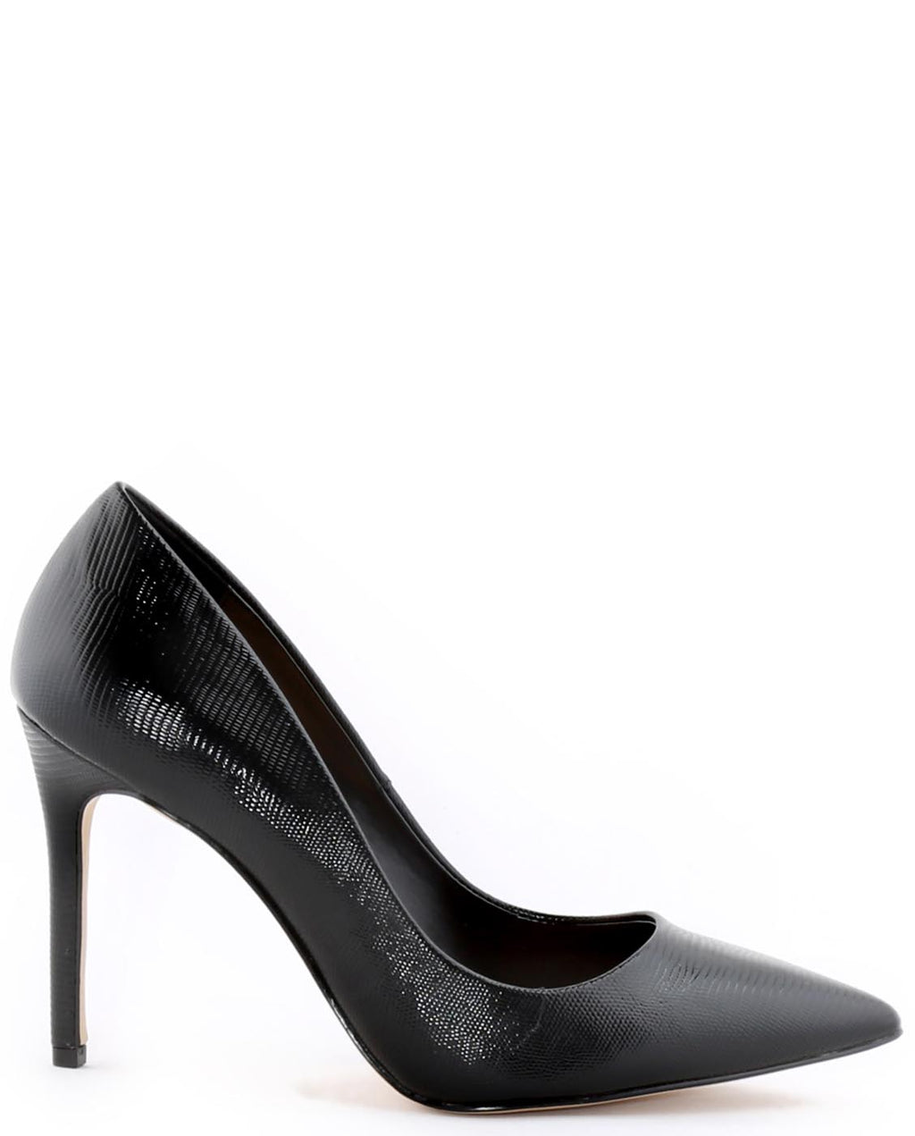 Textured Leather Heels - Fashion You Up
