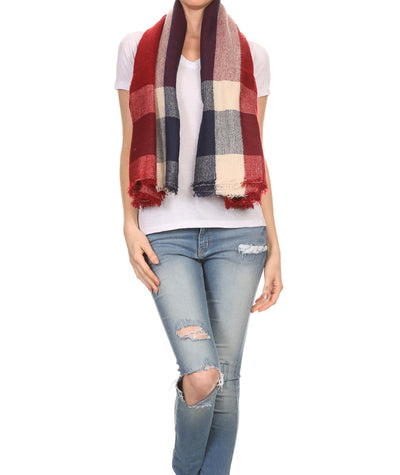 Plaid Scarf - Fashion You Up