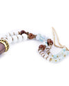 Beaded Necklace with Horn Pendant - Fashion You Up