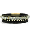 Braided Rhinestone Bracelet - Fashion You Up