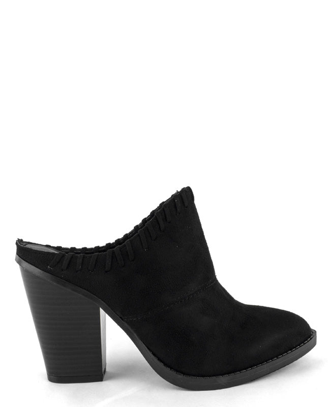 Slip-On Faux Suede Booties - Fashion You Up
